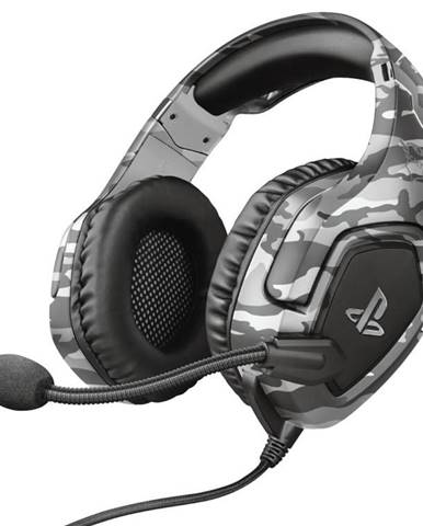 Headset  Trust GXT 488 Forze-G Sony PS4 Licensed sivý